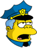 Wiggum Exhausted Icon