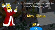 Mrs. Claus Unlock Screen