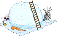 Best Snowman Ever Pile of Snow Level 1 Upgrade