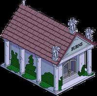 Burns Family Crypt Menu