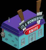 It's A Wonderful Knife Menu