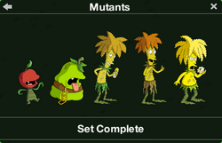 Mutants Character Collection