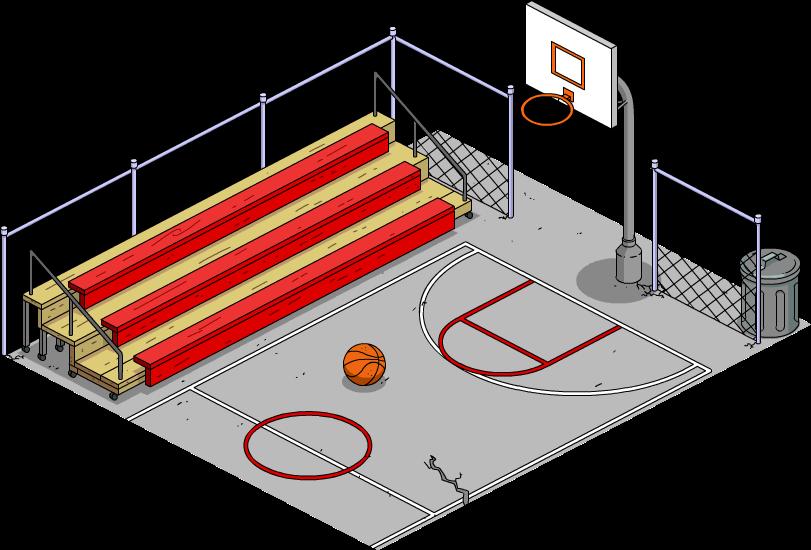 Outdoor Half Court