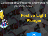 Festive Light Plunger