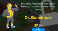Dr. Bonebreak Unlock Screen