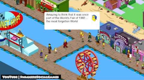 Simpsons Tapped Out The Sunsphere
