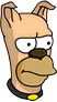 Homer Dog Annoyed Icon