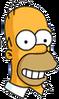 Homer Future Happy Icon