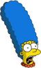 Marge Scream Icon
