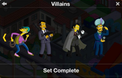 Villains Character Collection 2