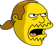 Comic Book Guy Angry Icon