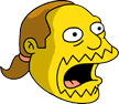 Comic Book Guy Surprised Icon