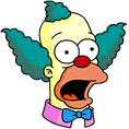 Krusty Surprised Icon