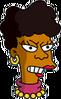 Bernice Hibbert Angry Icon