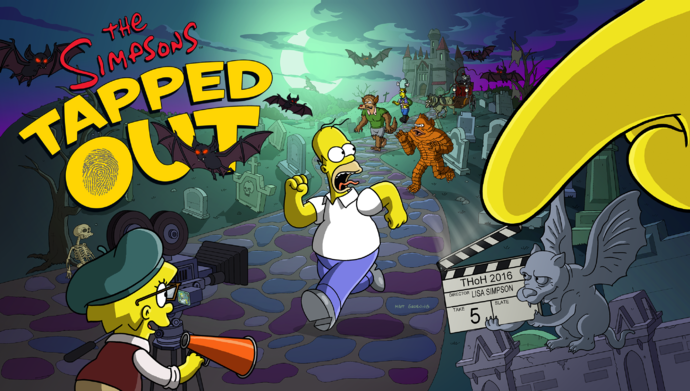 Treehouse of Horror XXVII Event Splashscreen