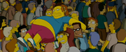 Comic Book Guy with University Nerds in the film
