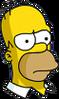 Homer Serious Icon