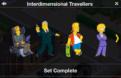 Interdimensional Travellers Character Collection 1
