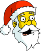 Santa Claus Surprised Icon