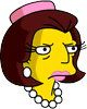 Mrs. Quimby Annoyed Icon