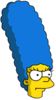 Muscular Marge Annoyed Icon