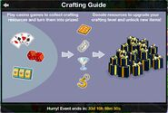 Burns Casino Crafting Guide
