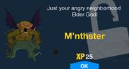 M'nthster Unlock Screen