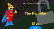 The Rambler Unlock Screen