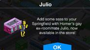 Julio Notification