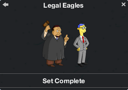 Legal Eagles Character Collection