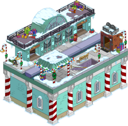 North Pole Station Snow Menu
