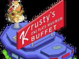 Krusty's One Plate Maximum Buffet