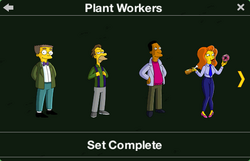Plant Workers Character Collection 1