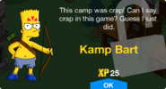 Kamp Bart Unlock Screen