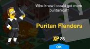 Puritan Flanders Unlock Screen