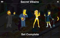 Secret Villains Character Collection 1