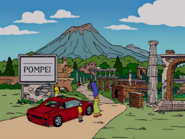 Pompeii Ruins in the show
