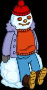 Homerfeversnowman