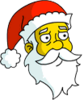 Santa Claus Worried Icon