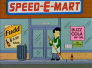 Speed-E-Mart in the show