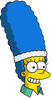 Tennis Marge Happy Icon
