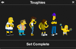 Toughies Character Collection