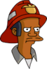 Fireman Apu Annoyed Icon