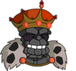 Old King Coal Happy Icon