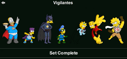 Vigilantes Character Collection