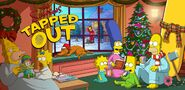 A Simpsons Christmas 2018 Event Splash Screen