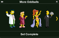 More Oddballs Character Collection 1