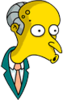 Mr. Burns Surprised Icon