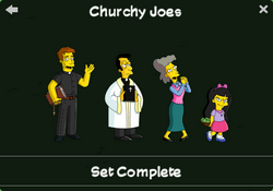 Churchy Joes Character Collection