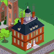 Olde Springfield Towne animation